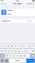 Apple iPhone 6 Plus - Internet - Navigation sur Internet - Étape 6