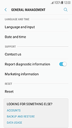 Samsung Galaxy J3 (2017) - Device - Factory reset - Step 6