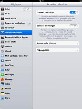 Apple iPad 4th generation - Internet - activer ou désactiver - Étape 4