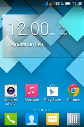 Alcatel OT-4015X Pop C1 - Contact, Appels, SMS/MMS - Envoyer un MMS - Étape 1