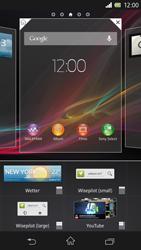 Sony Xperia Z - Startanleitung - Installieren von Widgets und Apps auf der Startseite - Schritt 4