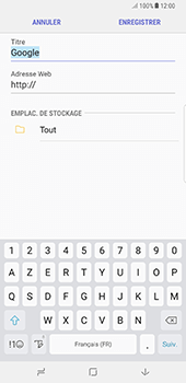 Samsung Galaxy Note 8 - Internet - Navigation sur Internet - Étape 9