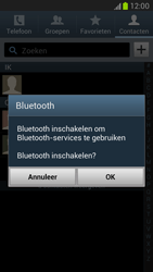 Samsung N7100 Galaxy Note II - Contacten en data - Contacten overzetten via Bluetooth - Stap 6