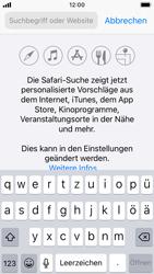Apple iPhone SE - iOS 14 - Internet und Datenroaming - Verwenden des Internets - Schritt 4