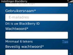BlackBerry 9320 Curve - BlackBerry activeren - BlackBerry ID activeren - Stap 9