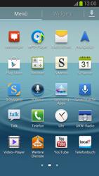 Samsung Galaxy S III - Apps - Einrichten des App Stores - Schritt 3