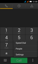 Alcatel OT-4033X Pop C3 - Voicemail - Manual configuration - Step 5