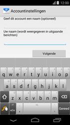 Acer Liquid E600 - E-mail - Handmatig instellen - Stap 18