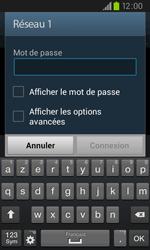 Samsung I9105P Galaxy S II Plus - Wifi - configuration manuelle - Étape 6