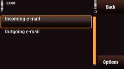 Nokia N97 Mini - E-mail - Manual configuration - Step 22