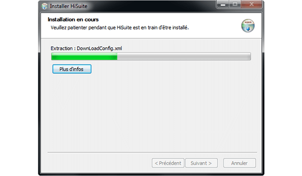 Huawei Mate 9 - Logiciels - Installation du logiciel de synchronisation PC - Étape 9