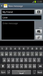 Samsung N7100 Galaxy Note II - MMS - Sending pictures - Step 9