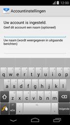 Acer Liquid E600 - E-mail - Handmatig instellen - Stap 17