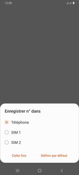 Samsung Galaxy A31 - Contact, Appels, SMS/MMS - Ajouter un contact - Étape 6