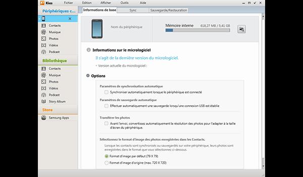 Samsung Galaxy S20 5G - Logiciels - Comment effectuer une sauvegarde de votre appareil - Étape 3