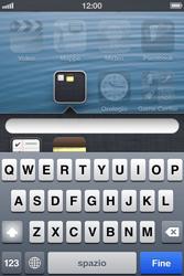 Apple iPhone 4S - Operazioni iniziali - Personalizzazione della schermata iniziale - Fase 5