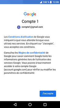Crosscall Trekker X4 - E-mails - Ajouter ou modifier votre compte Gmail - Étape 10