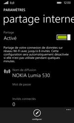 Nokia Lumia 530 - Internet et connexion - Partager votre connexion en Wi-Fi - Étape 7