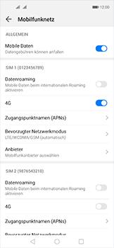 Huawei Nova 5T - Netzwerk - So aktivieren Sie eine 4G-Verbindung - Schritt 7