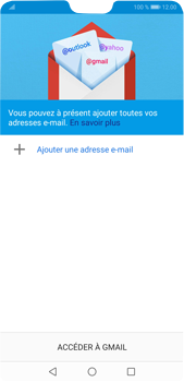 Huawei P20 Pro Android Pie - E-mail - 032a. Email wizard - Gmail - Étape 5