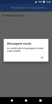 Sony Xperia XZ2 - Messagerie vocale - Configuration manuelle - Étape 11