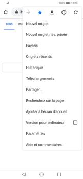 Huawei P Smart Z - Internet - navigation sur Internet - Étape 19