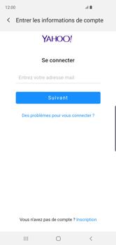 Samsung Galaxy S10 - E-mail - 032b. Email wizard - Yahoo - Étape 7