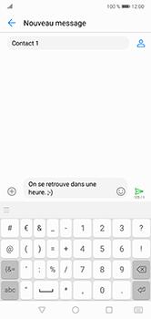 Huawei P20 lite - Contact, Appels, SMS/MMS - Envoyer un SMS - Étape 9