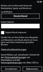 Nokia Lumia 800 - Apps - Konto anlegen und einrichten - 19 / 22