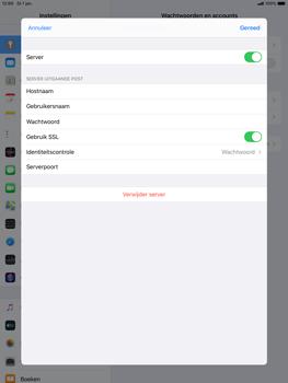 Apple ipad-air-10-5-inch-2019-model-a2123-ipados-13 - E-mail - Account instellen (POP3 met SMTP-verificatie) - Stap 18