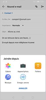 Huawei P30 Pro - E-mail - envoyer un e-mail - Étape 10