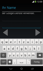 Sony Xperia E1 - Apps - Konto anlegen und einrichten - 7 / 23