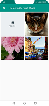 Huawei Mate 20 lite - Contact, Appels, SMS/MMS - Envoyer un MMS - Étape 11
