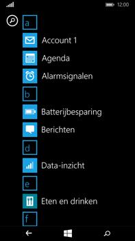 Microsoft Lumia 640 XL - e-mail - hoe te versturen - stap 3