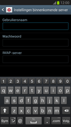 Samsung N7100 Galaxy Note II - E-mail - Account instellen (IMAP zonder SMTP-verificatie) - Stap 6