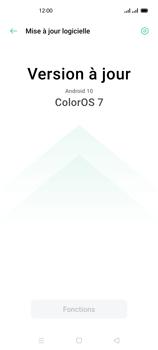 Oppo Reno 4 - Aller plus loin - Mettre à jour le logiciel interne de votre mobile - Étape 7