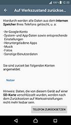 Sony F8331 Xperia XZ - Fehlerbehebung - Handy zurücksetzen - Schritt 8