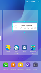 Samsung Samsung Galaxy J3 2016 - Startanleitung - Installieren von Widgets und Apps auf der Startseite - Schritt 8