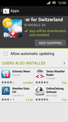 Sony Xperia U - Applications - Installing applications - Step 16
