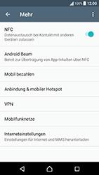 Sony Xperia X Performance - Netzwerk - Netzwerkeinstellungen ändern - 1 / 1