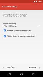 Motorola Moto G 3rd Gen. (2015) - E-Mail - Konto einrichten - Schritt 23