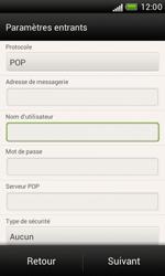 HTC Desire X - E-mail - Configuration manuelle - Étape 9