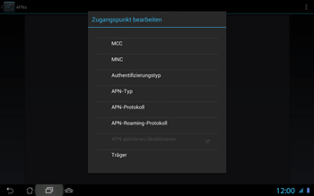 Asus Padfone 2 - Internet - Apn-Einstellungen - 15 / 25
