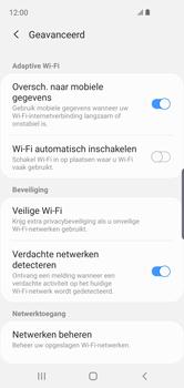 Samsung Galaxy S10e - wifi - schakel Wi-Fi Assistentie uit - stap 10