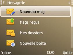 Nokia E72 - SMS - configuration manuelle - Étape 4