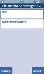 Samsung S5250 Wave 525 - Messagerie vocale - Configuration manuelle - Étape 7