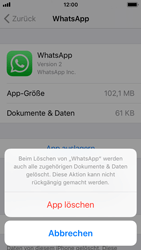 Apple iPhone 5s - Apps - Apps deinstallieren - 7 / 8