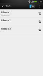 HTC Desire 601 - Wifi - configuration manuelle - Étape 7