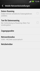 HTC One - Netzwerk - Netzwerkeinstellungen ändern - 1 / 1
