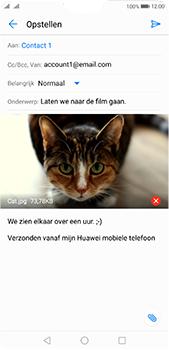 Huawei P20 Pro - E-mail - E-mails verzenden - Stap 15